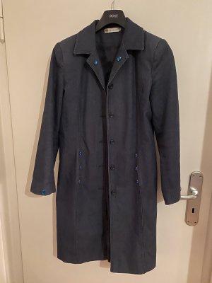 JP Collection Cappotto taglie forti blu scuro