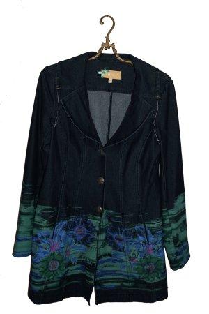 Crisca Between-Seasons-Coat multicolored