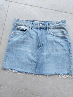 Tally Weijl Gonna di jeans azzurro