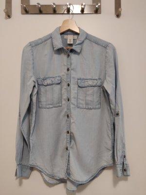 Jeansoptik Hemd