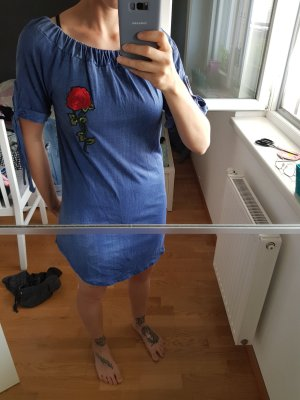 Jeansoptik Kleid