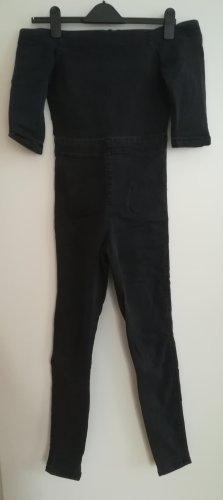 Asos Langer Jumpsuit black-anthracite