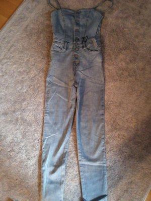 Tally Weijl Salopette en jeans bleu clair