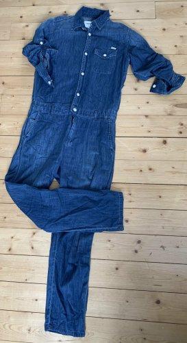 Carhartt Combinaison bleu acier coton