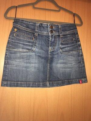 edc by Esprit Jupe en jeans bleu