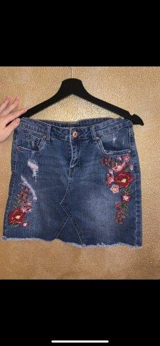 Blind Date Gonna di jeans multicolore