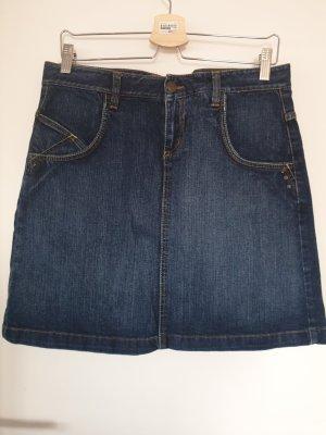 Zero Gonna di jeans blu-blu scuro