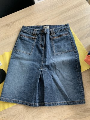 Boysen's Gonna di jeans blu