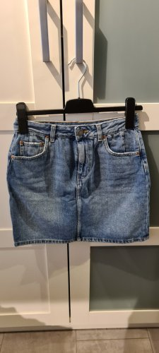 Asos Denim Jupe en jeans gris ardoise-bleu acier