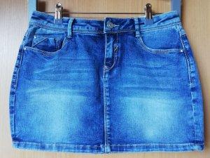 Pimkie Jupe en jeans bleu coton