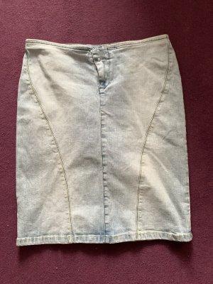 MNG Jeans Denim Skirt azure
