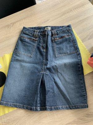 Boysen's Jeansowa spódnica niebieski