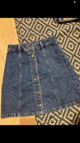 jeansrock button a linie