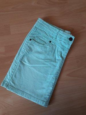 Janina Jupe en jeans vert pâle