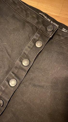 Jaqueline de Yong Jupe en jeans noir