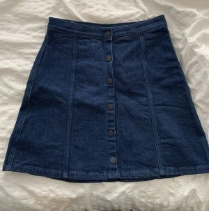 Calvin Klein Jeans Spijkerrok donkerblauw-blauw