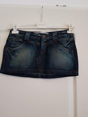 Only Denim Skirt dark blue