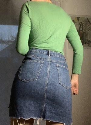 H&M Denim Skirt multicolored