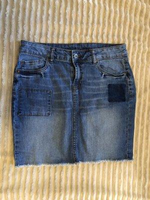 Colors of the world Denim Skirt blue
