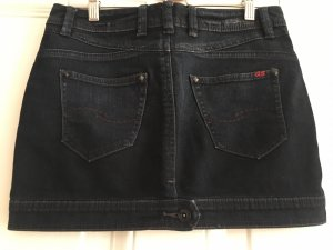 s.Oliver Jupe en jeans bleu foncé