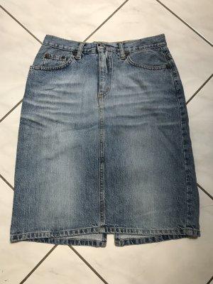 Freesoul Jupe en jeans bleu azur-bleuet