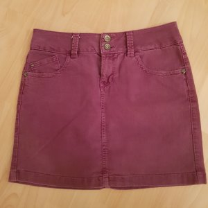 Esprit Denim Skirt purple-lilac
