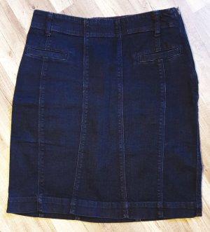 Part two Gonna di jeans blu scuro
