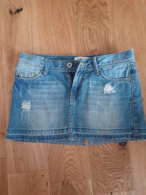 Amisu Jeansowa spódnica niebieski