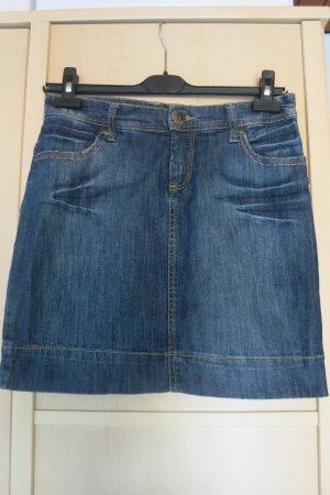 AJC Jeansowa spódnica ciemnoniebieski-niebieski