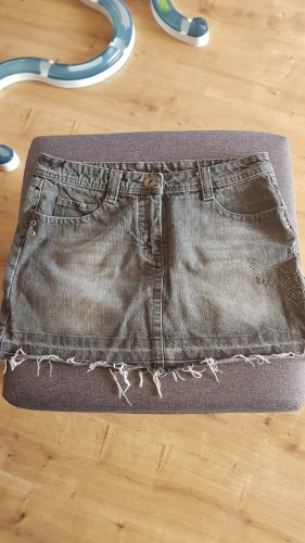 Denim Skirt grey