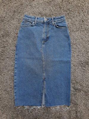 Primark Falda de talle alto azul aciano