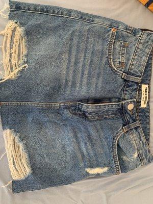 Tally Weijl Denim Skirt dark blue
