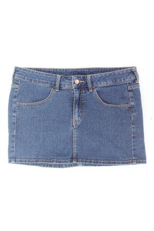 Jeansrock Größe 42 blau aus Baumwolle