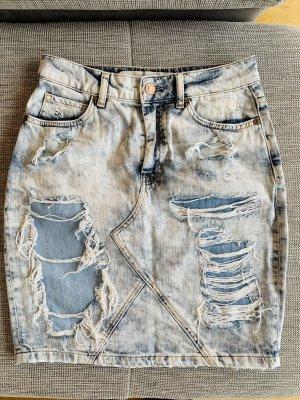 Guess Denim Skirt steel blue-azure