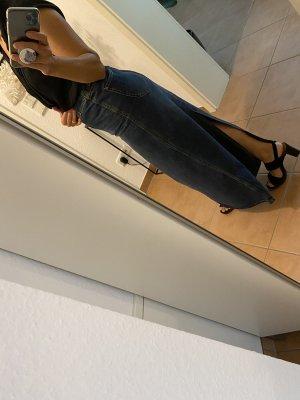 H&M Divided Denim Skirt dark blue