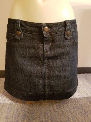 MNG Jeans Denim Skirt dark blue