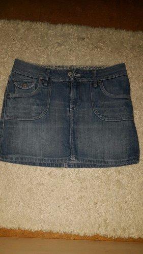 H&M Denim Skirt dark blue
