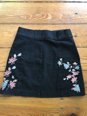 Topshop Jupe en jeans noir