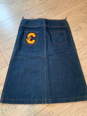 Chloé Jeansowa spódnica niebieski Bawełna
