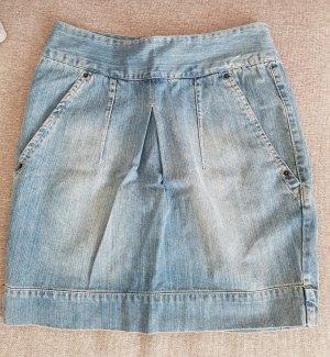 Ichi Gonna di jeans blu pallido