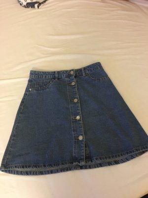 Noisy May Jeansowa spódnica błękitny