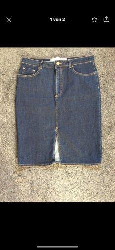 H&M Gonna di jeans blu scuro