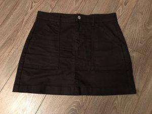 H&M Jupe en jeans noir