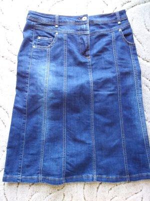 Collection L Denim Skirt blue cotton