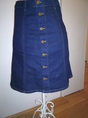 Pepe Jeans Rok met hoge taille donkerblauw