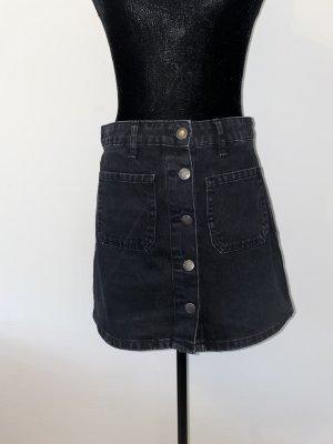 Bershka Gonna di jeans nero