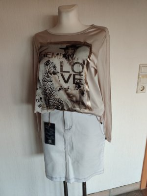 Arizona Denim Skirt natural white cotton