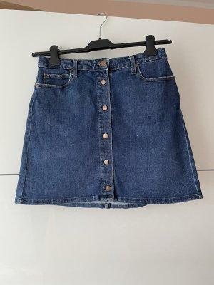 Lee Jupe en jeans bleu