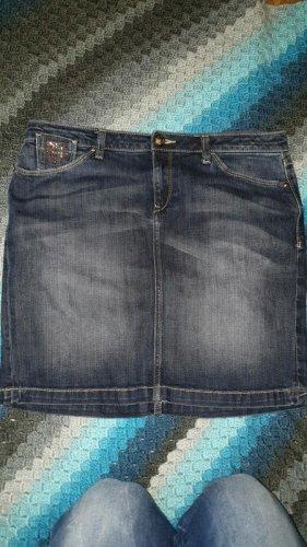 Mexx Denim Skirt dark blue