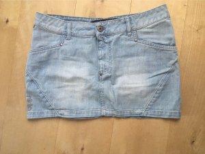 Nikita Jupe en jeans bleu azur-bleuet